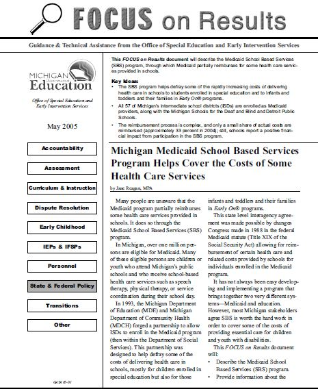 Medicaid in Michigan (1)